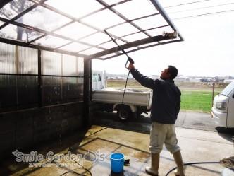 高圧洗浄 大掃除 スマイルガーデン明石