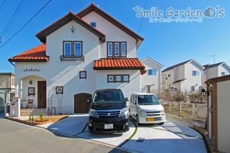 建物と一体感のあるカントリーデザイン外構 加古川市