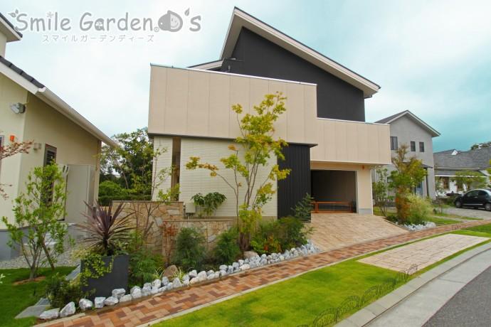 緑あふれるお庭まわりをより良い印象へガーデンリフォーム