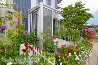 ガーデンルーム お花に囲まれた 加古川
