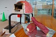 スマイルガーデンディーズ 加古川市 ピザ釜 焼き芋