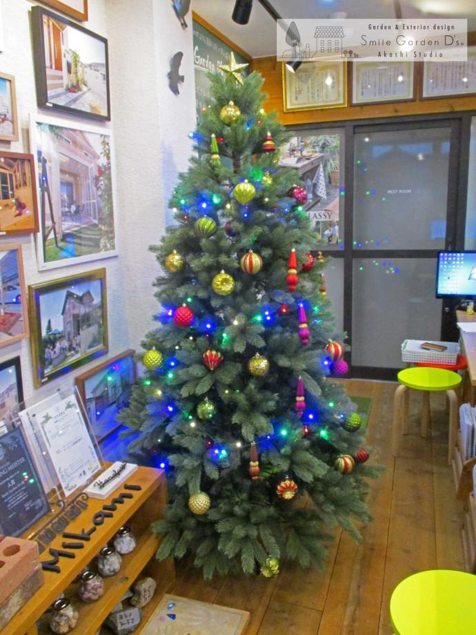 スマイルガーデンディーズ 神戸市西区 クリスマスツリー