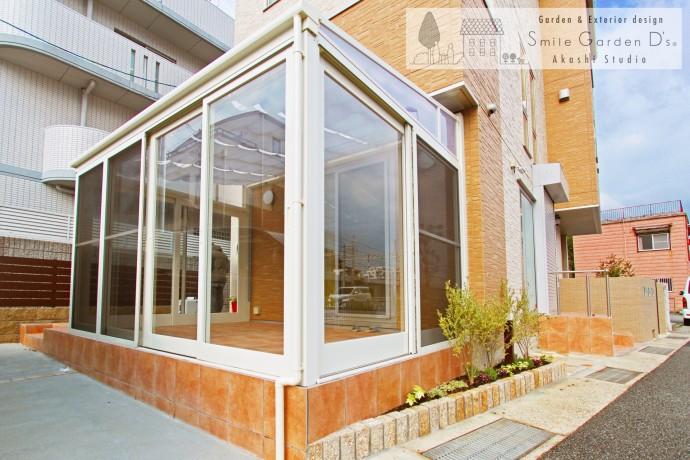 ガーデンルーム タイルテラス 垂水区