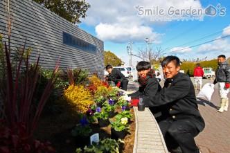 植栽 施工 卒業記念 加古川市