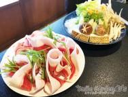 牡丹鍋 お庭で食事 加古川