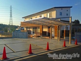 加古川 庭デザイン 新築外構