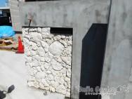 スマイルガーデン加古川 門柱 琉球石