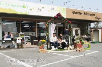 春のお庭の大相談会 写真撮影