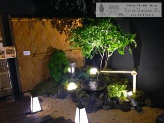 スマイルガーデン 関西エクステリアフェア 和風照明