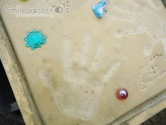 スマイルガーデン明石 想い出 手形プレート
