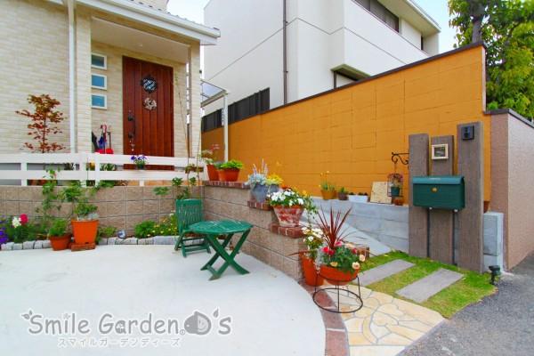 外構 庭デザイン スマイルガーデン 高砂市