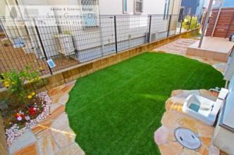 庭 デザイン 神戸市西区