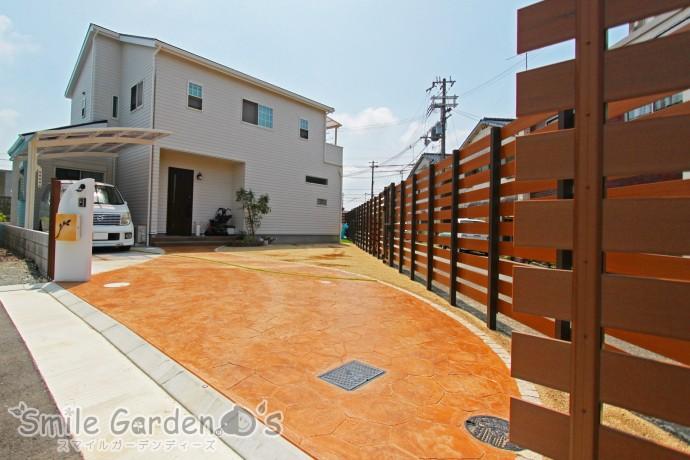 外からの視線を気にせずお庭を満喫♪ 加古川市