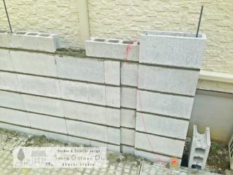 門柱 デザイン デザインウォール アートウォール スマイルガーデン明石