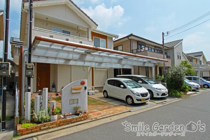Uスタイル デザインカーポート 加古川市