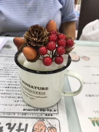 スマイルガーデン 加古川 明石 マグカップアレンジ