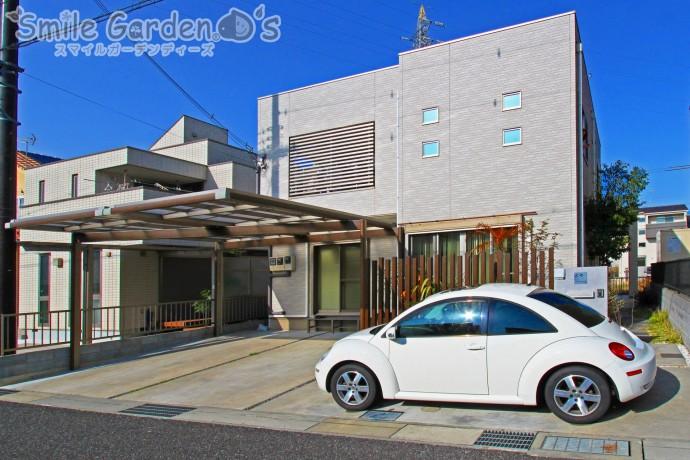 Uスタイル カーポート デザインカーポート 加古川市