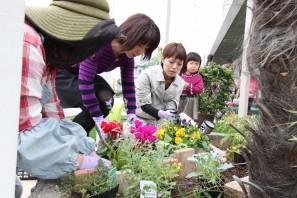 ガーデンショップ山咲さん お庭の相談会