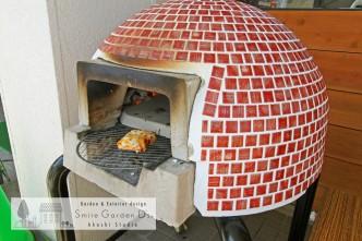 ピザ窯 本格ピザ スマイルガーデン明石スタジオ