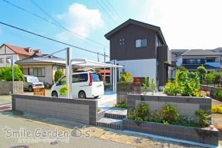 4G カーポート 庭 デザイン 加古川市 播磨町 稲美町