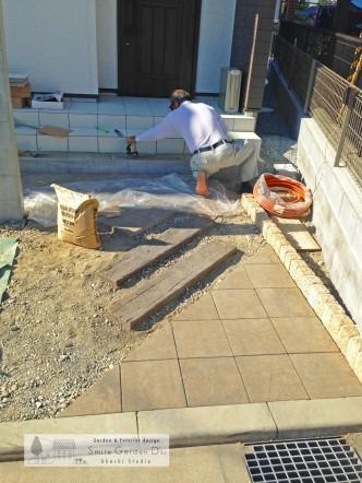 明石市外構工事 新築外構 お庭のリフォーム 庭デザイン