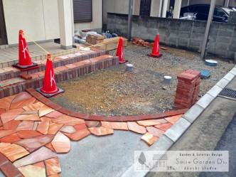 明石市外構 神戸市西区外構 新築外構 お庭のリフォーム工事