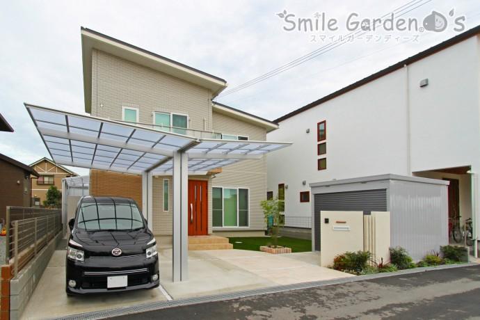 お庭の有効活用と開放感のある空間へ