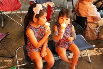 お子様達の大好きなソフトクリーム!