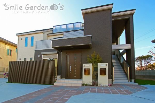 二世帯住宅 新築外構工事 播磨町
