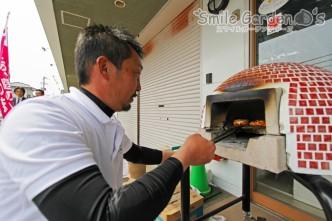 石窯 ピザ・ソーセージ スマイルガーデン