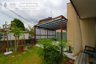 テラス屋根 リフォーム 施工