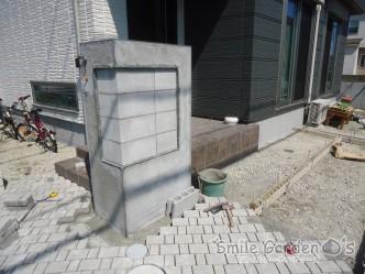 下地ブロック 門柱下地 ユニソンアッピア