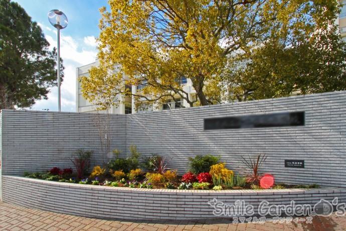 スマイルガーデンディーズ 高校 花壇 アフター