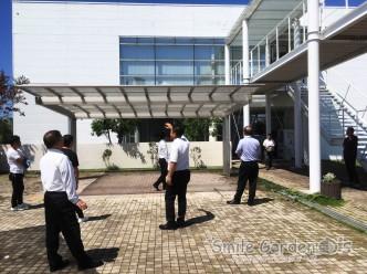 スマイルガーデン加古川 工場見学 カーポート