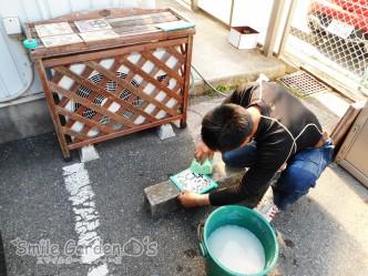 鍋敷き 手作り モザイクタイル