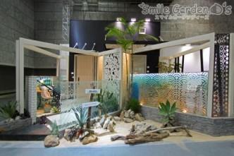 関西エクステリアフェア YKKAPブース 明石