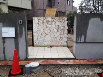 明石市 加古川市 播磨町 稲美町 庭 デザイン 琉球石灰岩