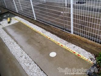 ガス配管 現地調査 カーポート