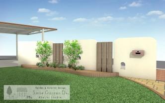 スマイルガーデン 明石市 庭デザイン