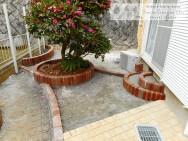 スマイルガーデンディーズ ガーデンリフォーム 工事中 庭デザイン
