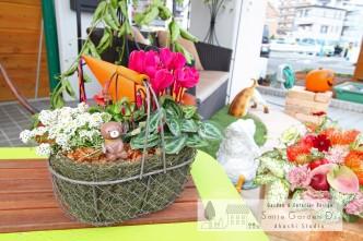 スマイルガーデン明石スタジオ お庭大相談会 ガーデンショップ山咲さん 寄せ植え教室