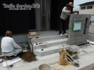 タイル工事 タカショー セラウォール