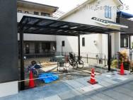 カーポート 駐車スペース 加古川市