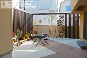 スマイルガーデン 庭デザイン 目隠し 植栽 +G 播磨町