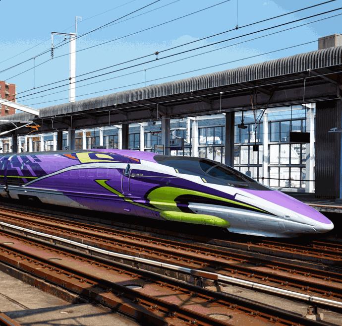 スマイルガーデン エヴァンゲリオン 新幹線